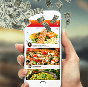 Food ordering app feature